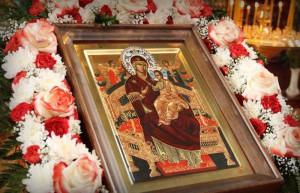 Список с великой иконы Божией Матери в городе Московский