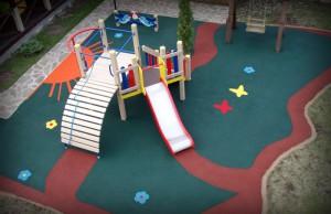 Новые детские площадки в городе Московский