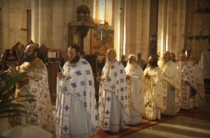 Празднование дня памяти святых мучениц
