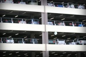 Новый гаражный комплекс в Граде Московском