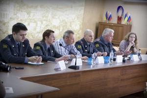 Отчет уполномоченных участковых полиции перед населением
