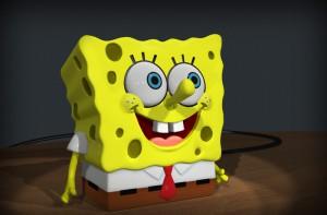 Губка Боб в 3D
