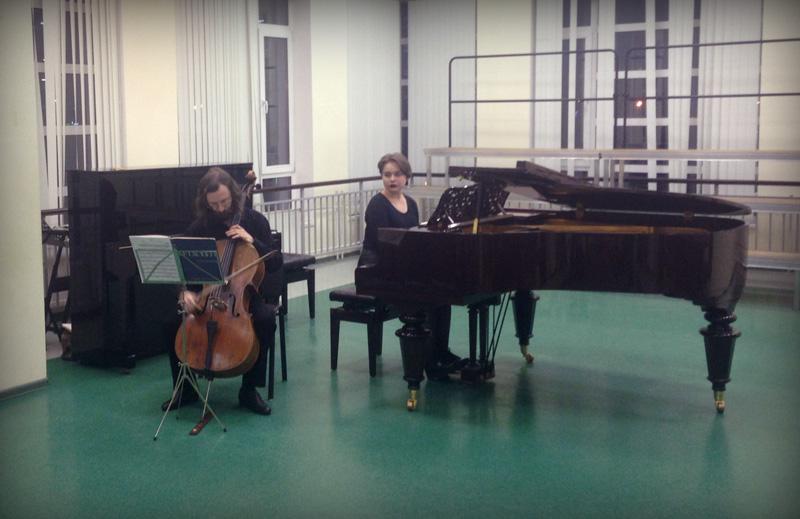 Концерт педагогов школы искусств в честь дня работника культуры