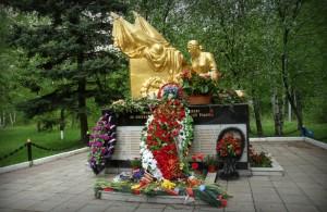 Воинский мемориал в городе Московский