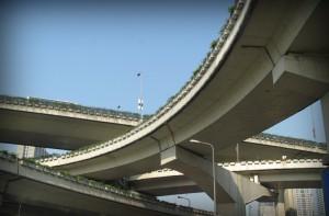 Развязку на пересечении Ленинского проспекта с МКАДом реконструируют