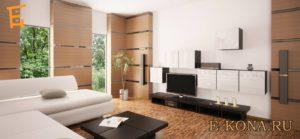 Прекрасные черты современной, футуристической мебели