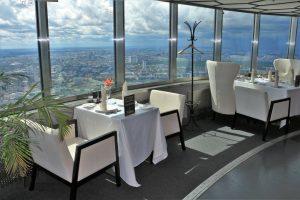Ресторан «7 небо» на Останкинской телебашне
