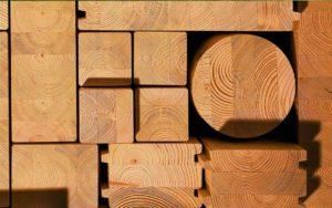 Деревянный брус и его виды
